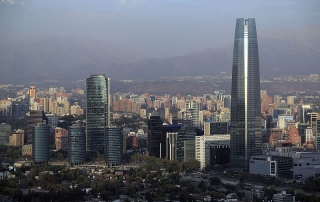 Chile country of Latam with business projection