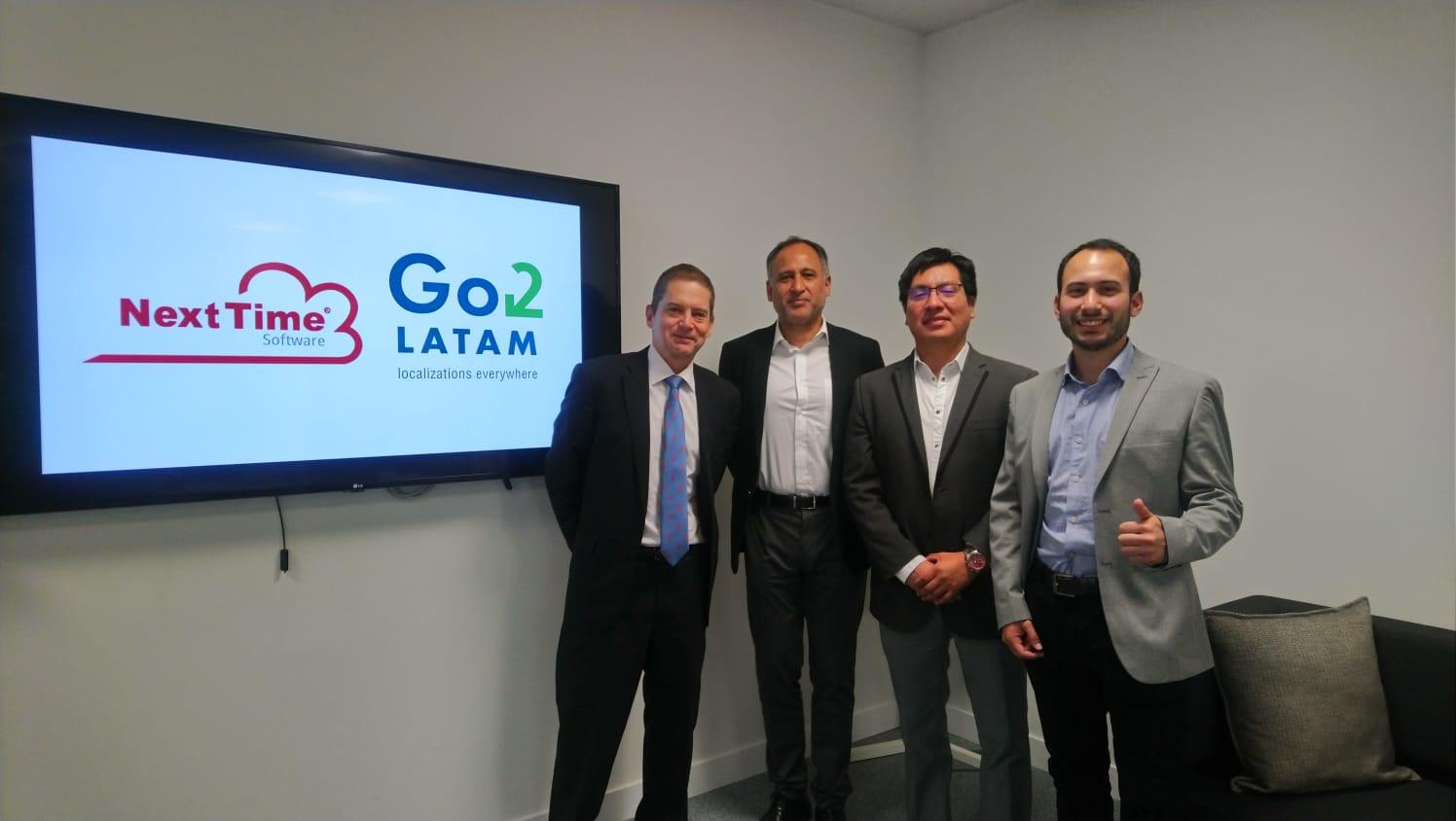 NextTime Software nuevo partner de Go2Latam