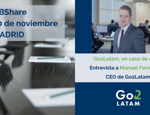 Go2Latam participa en QBShare Madrid 2019
