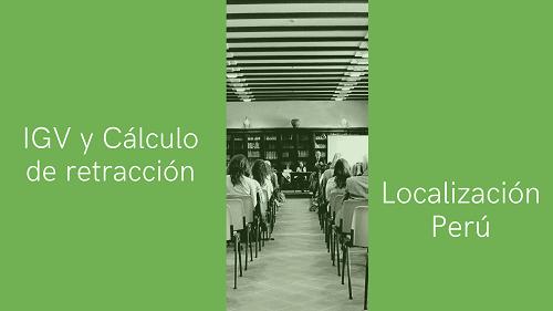 Peru local functionality