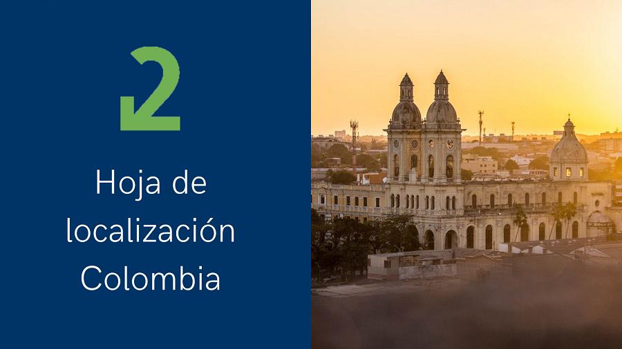 Hoja de localización Microsoft Dynamics Colombia