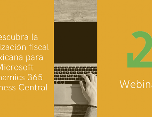 Descarga ya el webinar de la localización financiera mexicana para Dynamics 365 Business Central