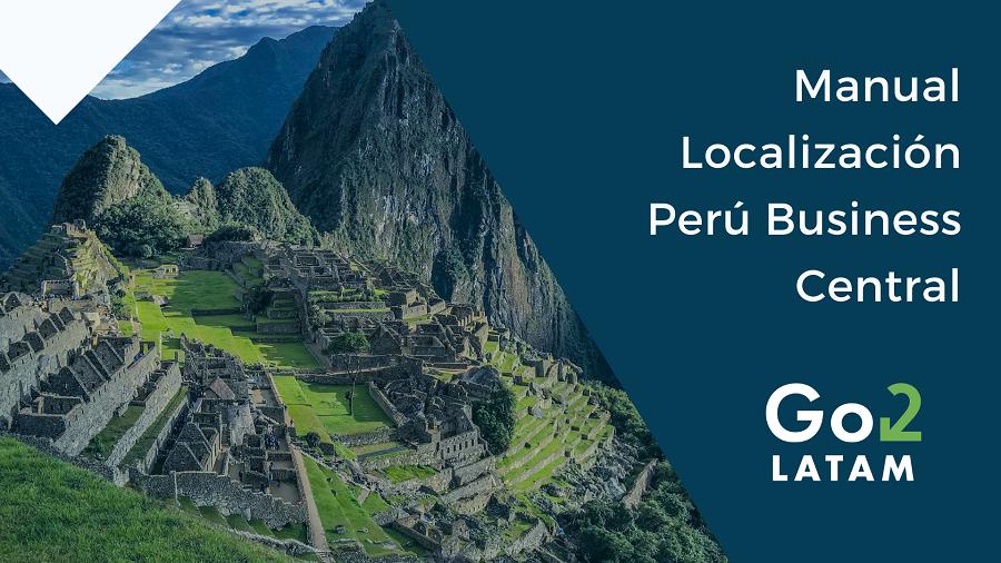 manual localización Perú Business Central