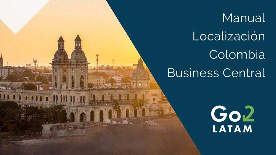 manual localización Colombia Business Central