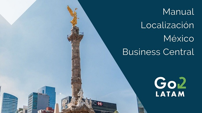 manual localización mexicana Business Central